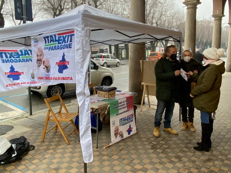 Gazebo Informativo San Damiano d'Asti